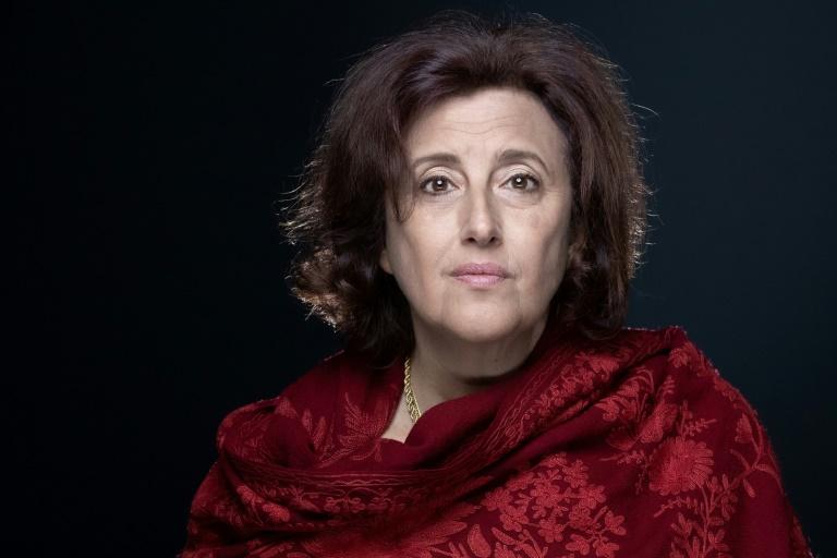 L'ancienne journaliste Francesca Gee à Paris le 22 septembre 2021