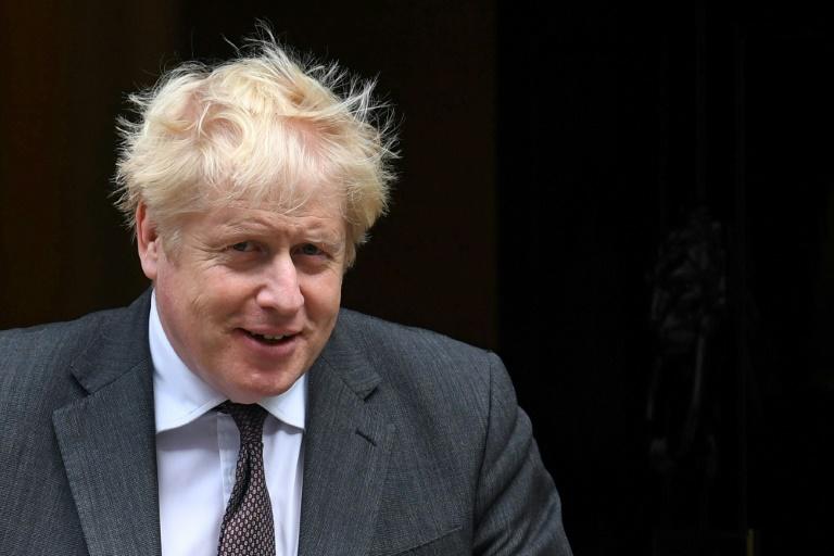 Le Premier ministre britannique Boris Johnson, le 15 septembre 2021 à Londres