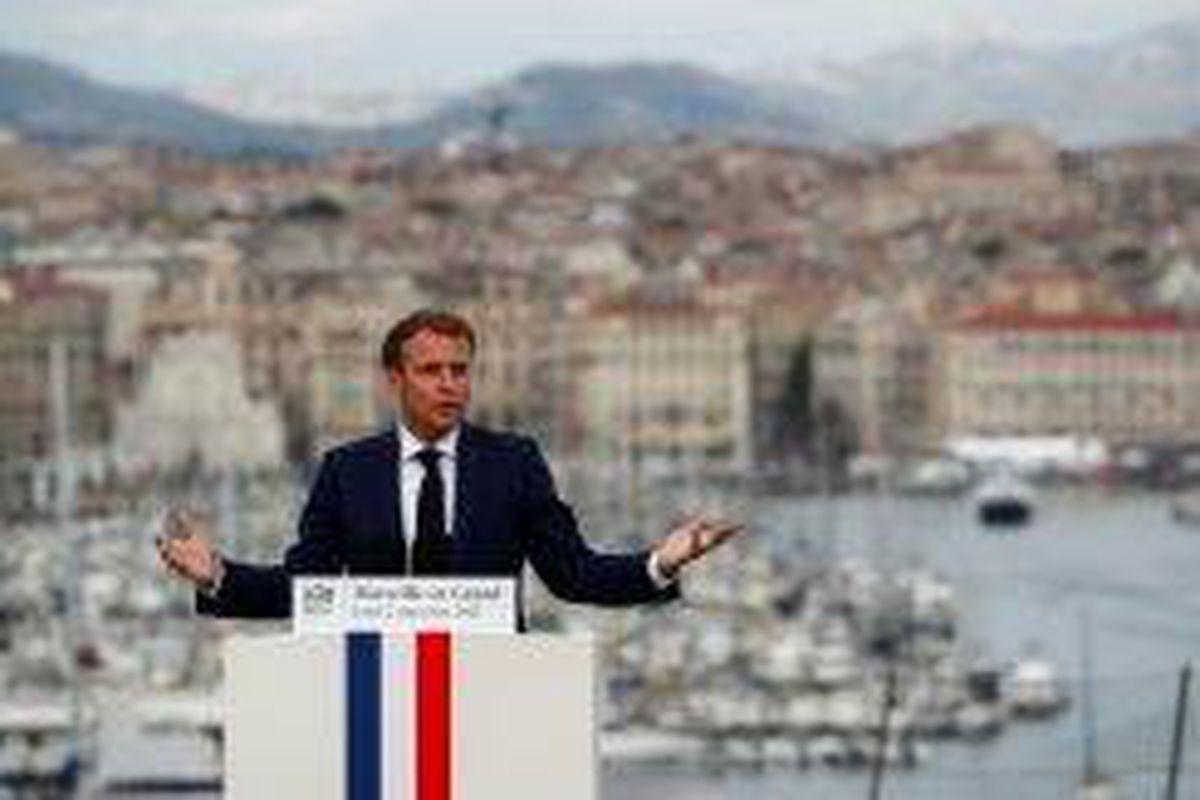 <p/>Le président Emmanuel Macron au Palais du Pharo, le 2 septembre 2021 à Ma                 </div>             </div>          </div>          </div></div> <!-- ./block -->                            </div>                         </div>                                     </div> <!-- /.td-pb-row -->         </div> <!-- /.td-container -->     </div> <!-- /.td-main-content-wrap -->  <!-- Instagram -->                <div class=