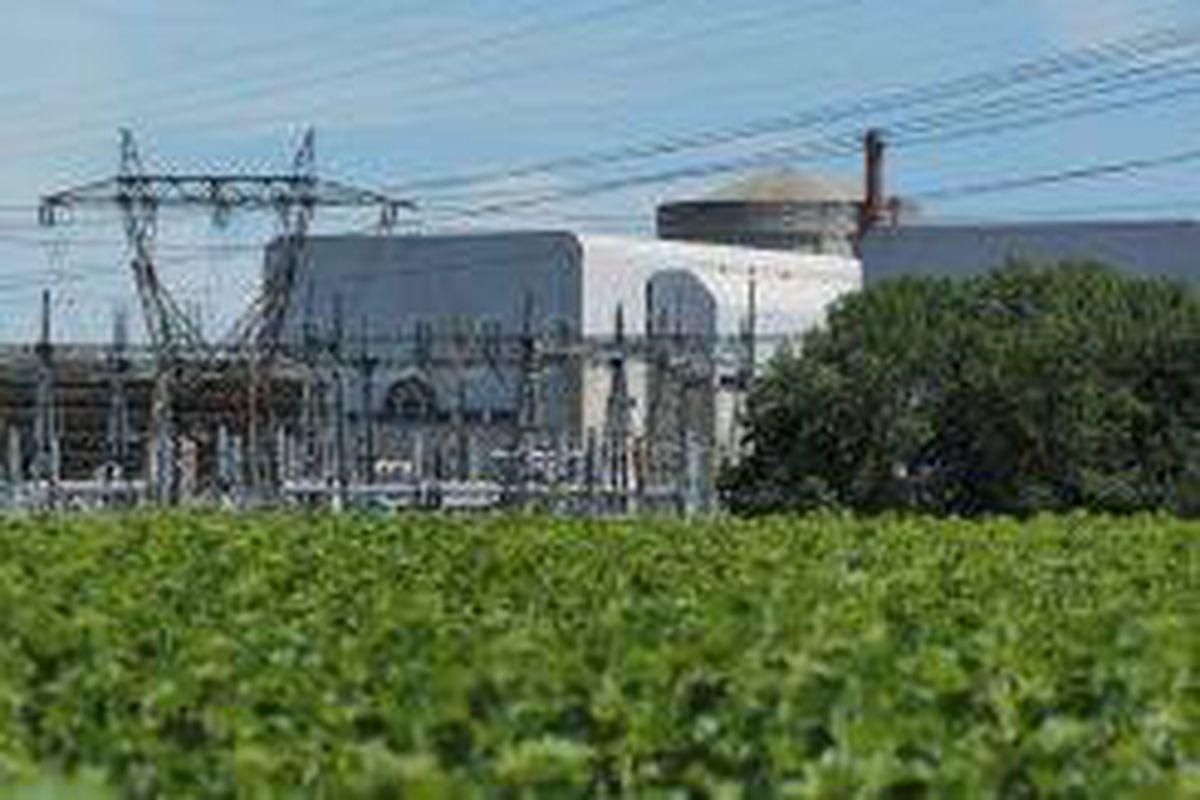 <p/>La centrale nucléaire de Chinon, à Avoine, le 8 juillet 2020